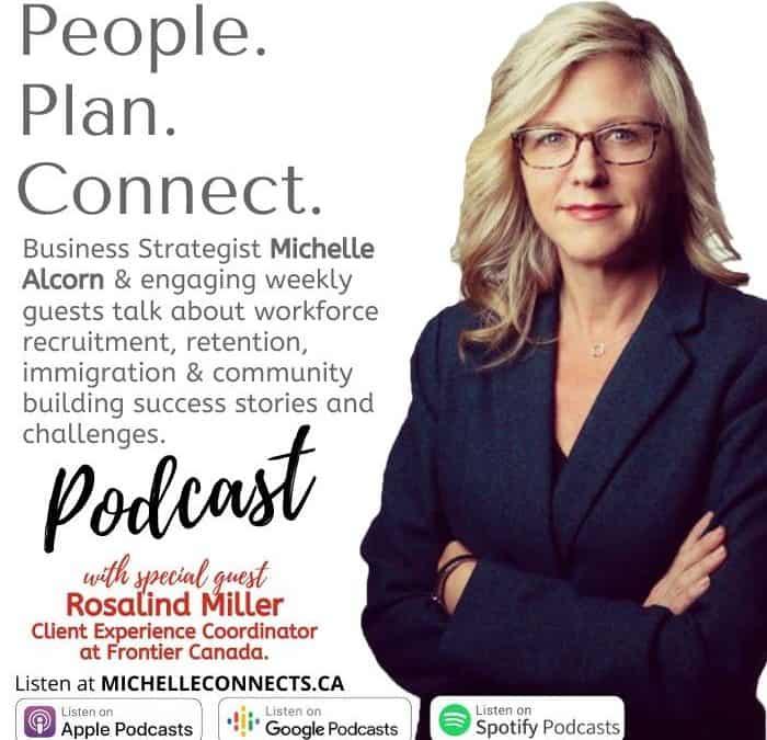 People. Plan. Engage. Podcast Episode 4 – Rosalind Miller