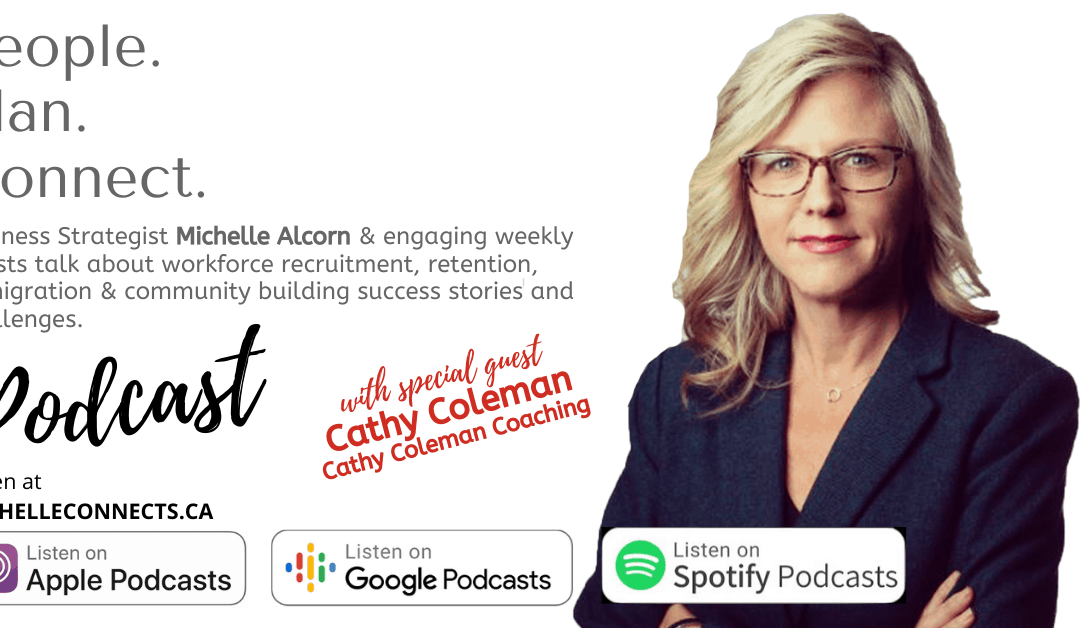 People. Plan. Connect. Podcast Episode 20 – Cathy Coleman