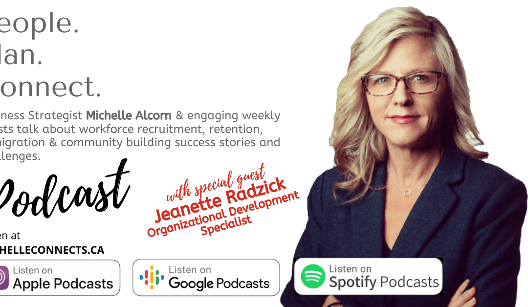 People. Plan. Connect. Podcast Episode 22 – Jeannette Radzick
